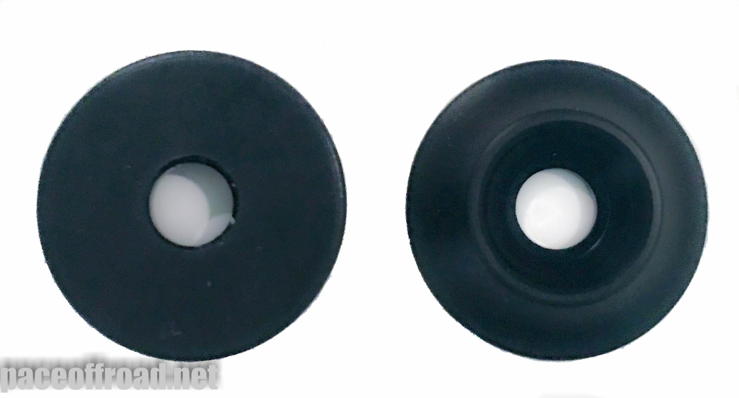 Delrin Plastic 1/4″ Countersunk Washer Set – Pace Offroad
